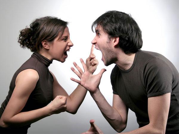 twee gestresste mensen