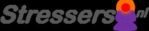logo stressers.nl - boeddha met rood hoofd